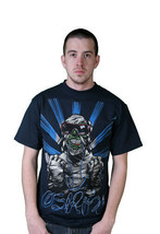 Osiris Shoes Mens Navy Cool Zombie Mummy Sunglasses T-Shirt Medium NWT image 2