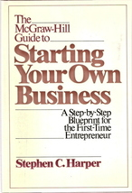 The Mcgraw-Hill Guide to Starting Your Own Business 00702668 - $5.00