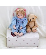 Ashton Drake Galleries Porcelain Doll Hannah wi... - $86.00