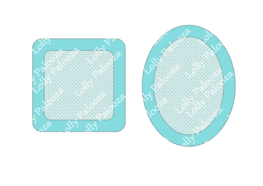 Shaker DIGITAL files:  Square and Oval.  Instant Download.  PNG & SVG files.  No