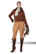 California Costumes Amelia Earhart Aviator Adult Womens Halloween Costum... - $37.00