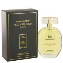 Precious Gold by Harve Benard Eau De Parfum  3.4 oz, Men - $28.75