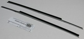 1963-1965 CORVETTE COUPE WINDOW INNER WEATHERSTRIP KIT 2 PIECES - $66.83