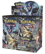 Sun & Moon Ultra Prism 5 Booster Pack Lot POKEMON TCG SM5 - $31.99
