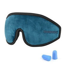 GINIMAX 3D Sleep Eye Mask Cover with Ear Plugs, Light Blocking Memory Fo... - €18,56 EUR