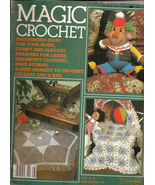 Magic Crochet Magazine No 28 December 1983  Home Decor Crochet Patterns ... - $7.00