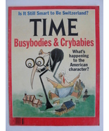 Magazine Time 1991 August 12 1990s Busybodies and Crybabies American Cha... - $9.99