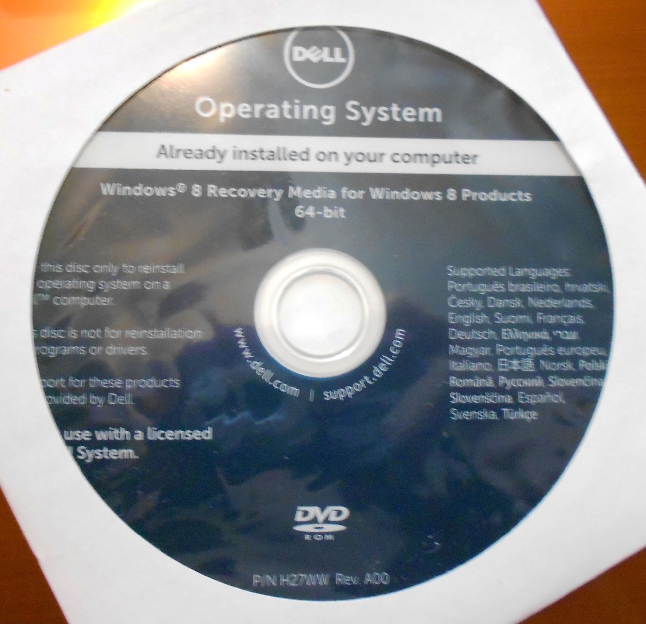 Dell Laptop Windows 8 Recovery