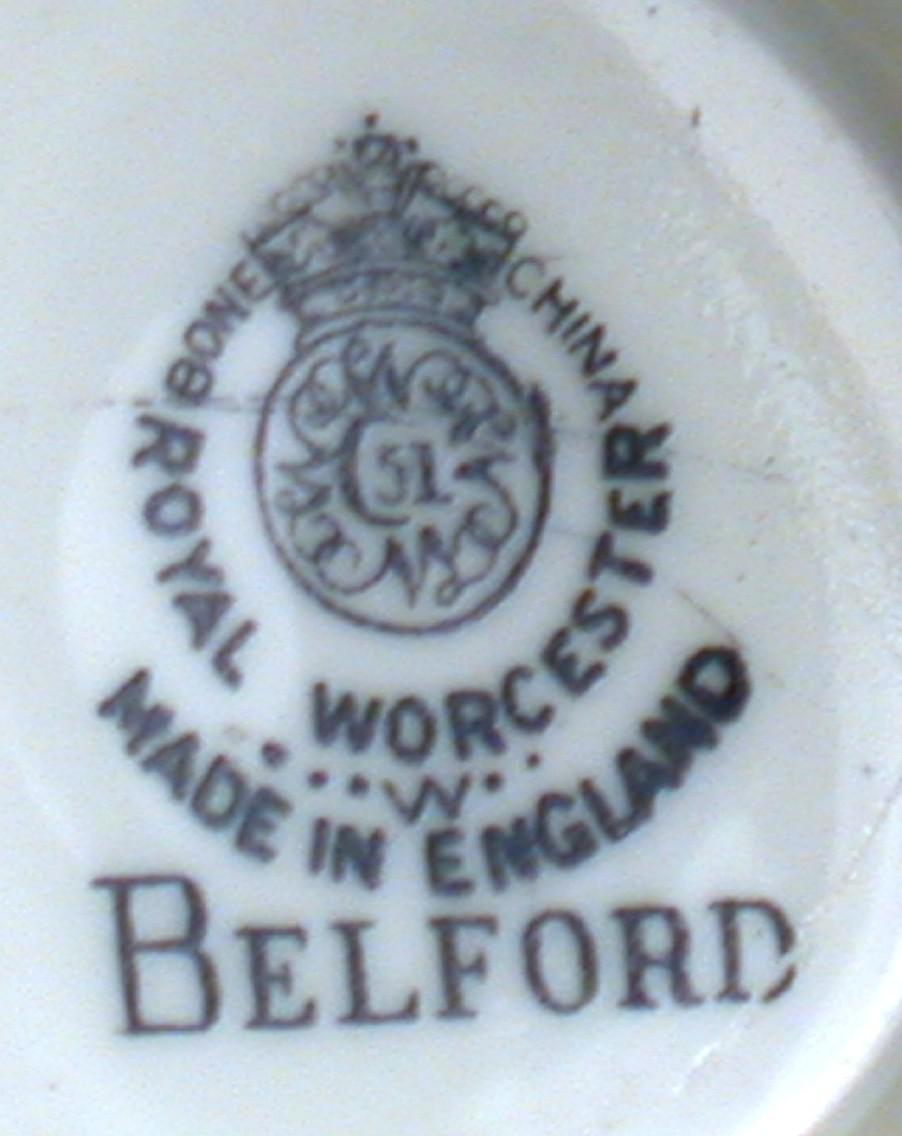 Royal Worcester Belford Demitasse Bone China Cup New