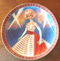 Barbie Doll Collector Plate1965 American Girl Danbury Mint Holiday Dance - $29.65