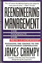 Reengineering Management The Mandate For New Leadership Jame - $5.00