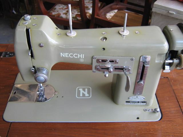 Necchi BU Mira Thread Tension Guide (Slack Thread Lever)