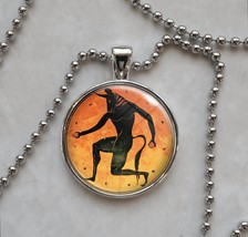 Ancient Greek Tondo Choose Image Pendant Necklace - $14.85+