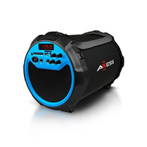 Axess Indoor/Outdoor Bluetooth, 6 Subwoofer/3 Horn 2.1 Blue Speaker - $147.61 CAD