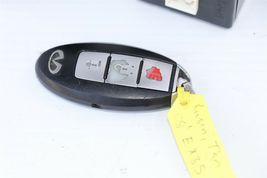 2008 Infiniti EX35 ECU BCM Ignition Keyless Entry Fob Combo Set image 4