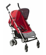 New In Box Simmons Kids Comfort Tour LX  Stroller Red/Grey - $168.29