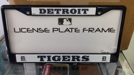 MLB Detroit Tigers Navy Colored Chrome License Plate Frame - $24.49