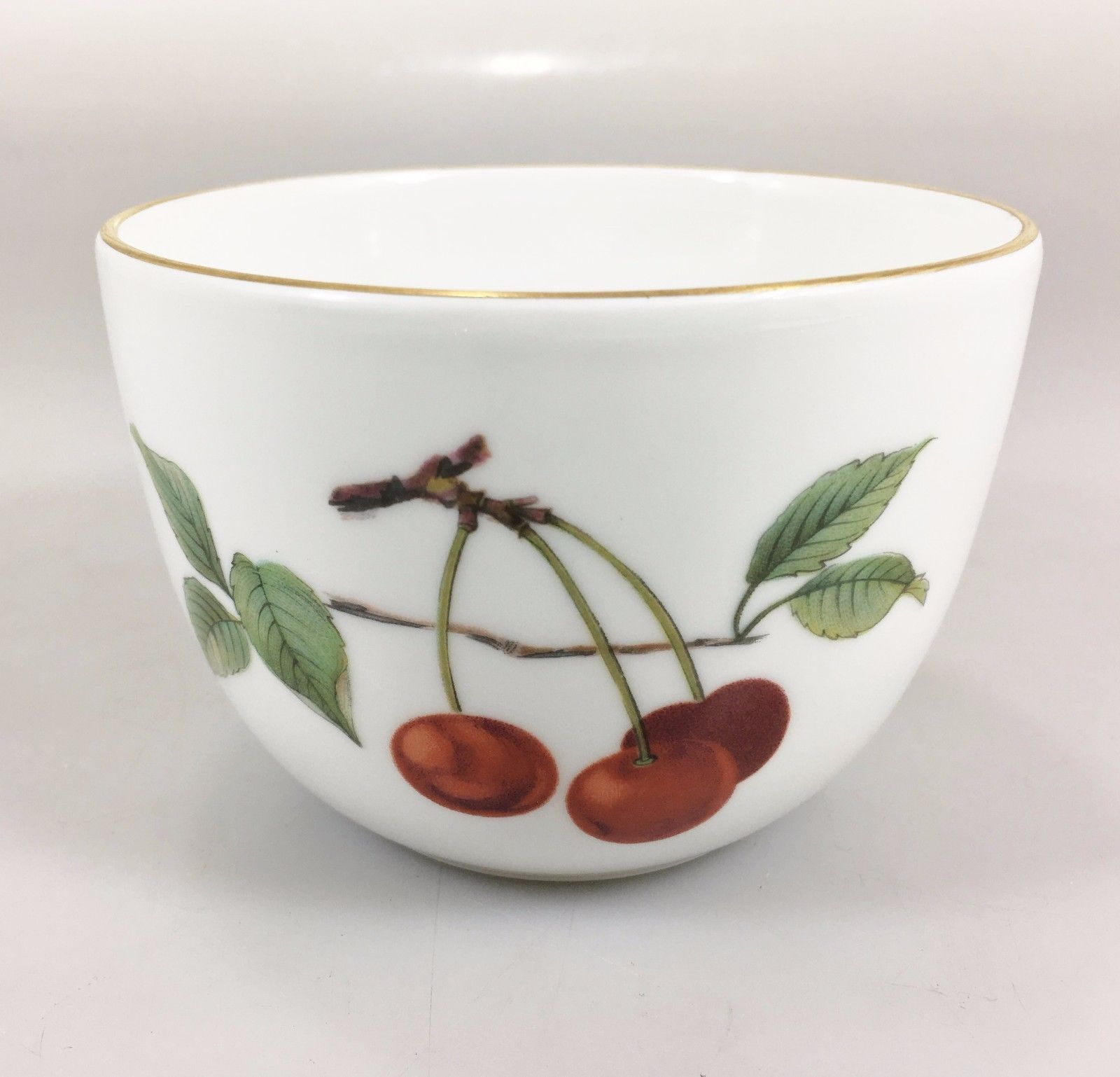 "Royal Worcester China EVESHAM VALE Gold 5 5/5"" Bowl jolash.pl"