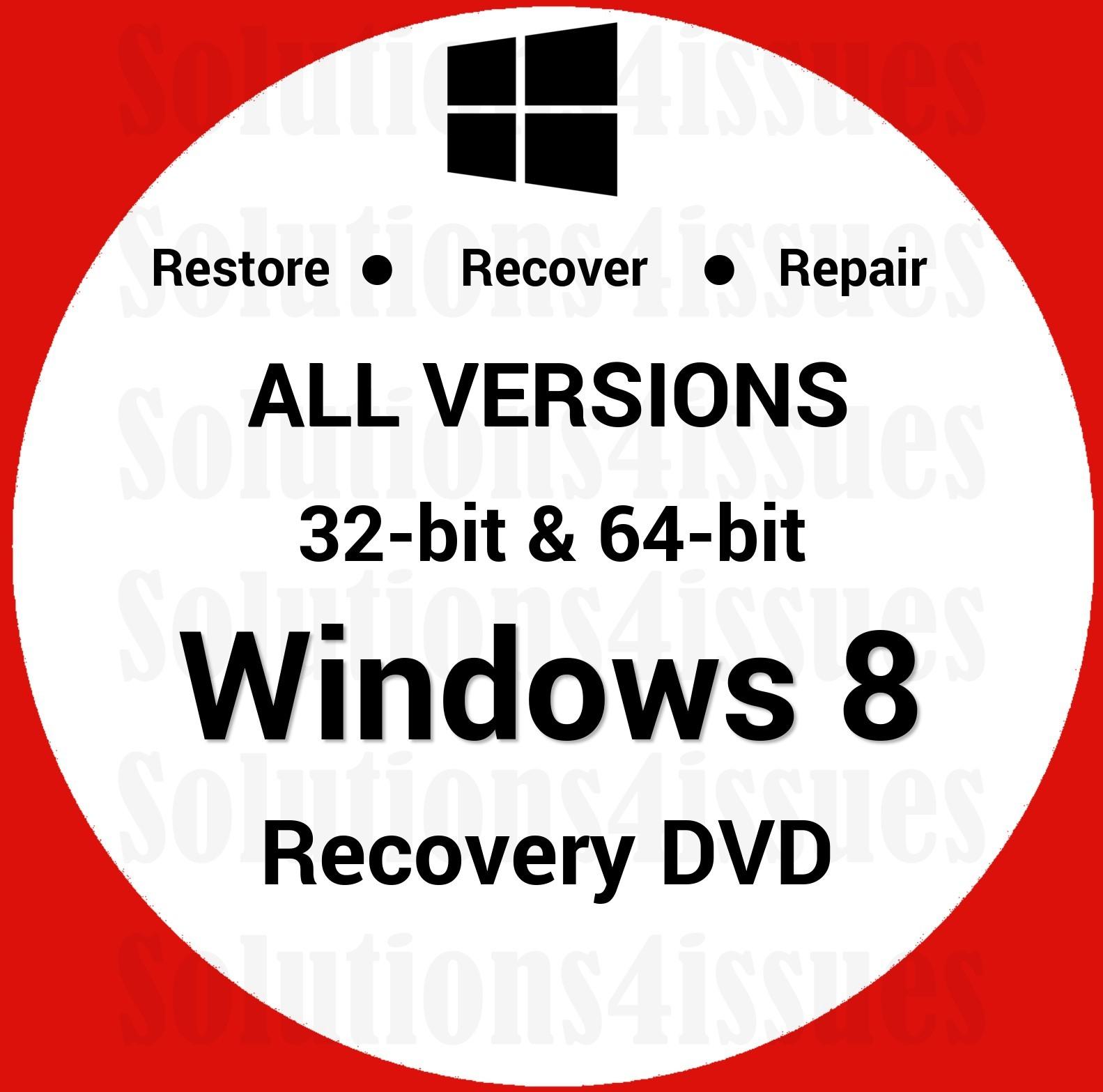 Reinstall Windows 7 Enterprise 32//64-Bit Install Restore Recovery Repair USB