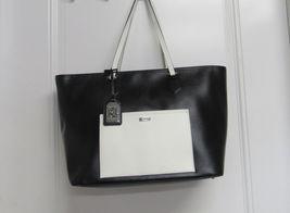 Ralph Lauren Lowell Women's Handbag Genuine Leather Solid Classic Tote Black New - $349.90