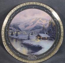 Olympic Mountain Evening Thomas Kinkade Collector Plate Bradford 84-B11-... - $24.95