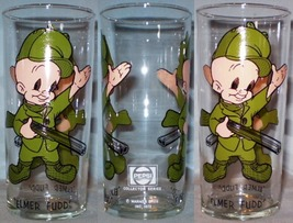 Pepsi Collector Series Glass 1973 Elmer Fudd Federal LOS BL 16oz - $10.00