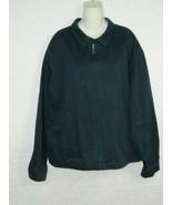 Polo Ralph Lauren Jacket Navy Blue Full Zip Heavy Canvas Size XXL - $46.50