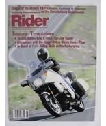 Magazine Rider June 1987 BMW K100LT Horex Titan 1800 cc Cagiva Alazzurrz... - $7.99