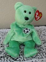 Ty Beanie Baby Kicks The Bear 5th Generation Hang Tag 1999 USED - $4.94