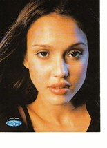 Jessica Alba teen magazine pinup clipping close up Dark Angel Tiger Beat Bop