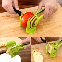 Food Slicer Fruit Vegetable Home Manual Kitchen Tools Plastic Hand Type ... - $9.49