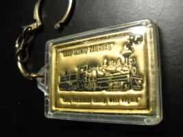Cass Scenic Railroad Key Chain Green Bank Cass Pocahontas County West Virginia - $6.99