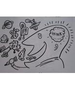 Children Creative Thinking Art Drawing Author Signed Self-Esteem Doodles... - $37.27