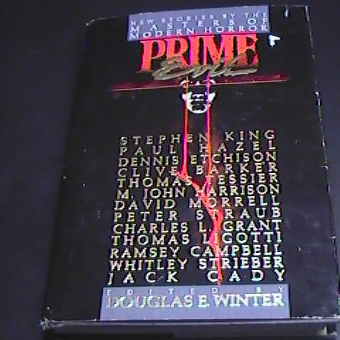 Book winter prime evil first printing hcdj 01