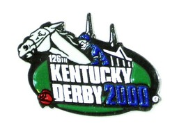 2000 - 126th Kentucky Derby Official Lapel Pin - MINT - $6.99