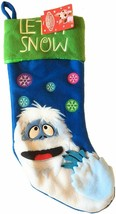 Rudolph The Red Nosed Reindeer Abominable Let it Snow 18 Inch Christmas ... - $19.99