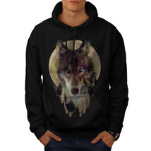 Wolf Dream Catcher Sweatshirt Hoody Wild Tribal Men Hoodie - $20.99+