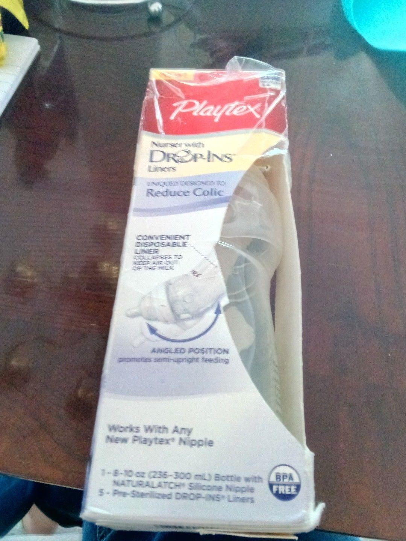 Playtex Baby Nurser Drop-Ins Liners 8-10 oz Pack Of 4 50 Ct//ea box = 200 Total
