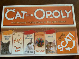 Cat-opoly Board Game Brand New Sealed Purrfect - $16.35