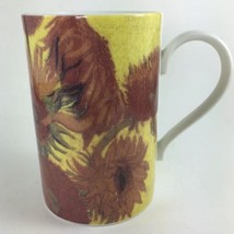 Dunoon Sunflower Stoneware Coffee Mug Cup Made in Scotland 8 oz Brown Ye... - $21.55