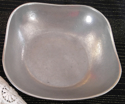 "1960s Wilton-Columbia USA Armetale Pewter ""Boston"" Bowl - ""Plough Tavern... - $25.00"