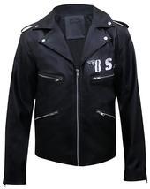 BSA George Michael Faith Rockers Revenge Biker Black Leather Jacket image 4