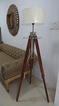 Classic Vintage Tripod Floor Lamp Corner Home Decor Lamp By Nauticalmart - $197.01