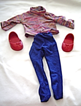 """Turtle Neck Leggings Shoes Fits 18"""" Doll American Girl Our Generation - $9.99"""