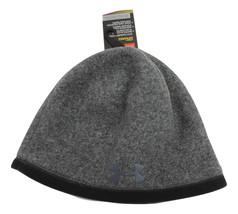 Under Armour Men's UA ColdGear Infrared Fleece Beanie Knit Hat Steel New... - $19.99