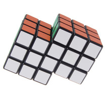 2017 New 2-in-1 Conjoined Puzzle Magic Cube 3x3x3 Black (New Version) - $26.76