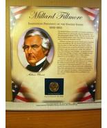 Millard Filmore United States Presidents Coin Postal Commemorative Society - $8.09