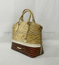 NWT Brahmin Duxbury Leather Satchel/Shoulder Bag in Honeycomb Leroy image 5
