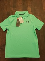 Under Armour UA Playoff Golf Polo Young Kids Size S - $19.79