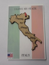 There's No Place Like Italy Wood Ornament Made in the USA - $9.95